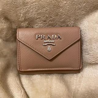 PRADA - PRADA プラダ 三つ折り財布