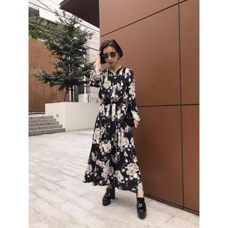 Ameri VINTAGE - Ameri♡BLOSSOM PLEATS DRESS