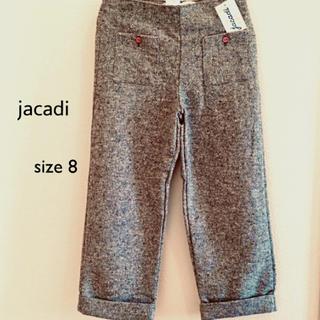 ジャカディ(Jacadi)のjacadi  size 8 / 128㎝  ツイードのグレーのパンツ(パンツ/スパッツ)