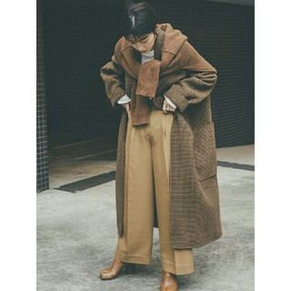 TODAYFUL - TODAYFUL 'Over Check Coat'オーバーチェックコート36