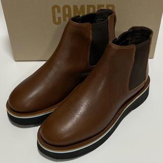 カンペール(CAMPER)の新品 Camper Tyra カンペール ショートブーツ ブラウン(ブーツ)