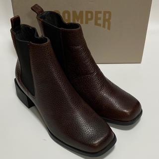 カンペール(CAMPER)の新品 Camper Kobo カンペール ショートブーツ ブラウン(ブーツ)