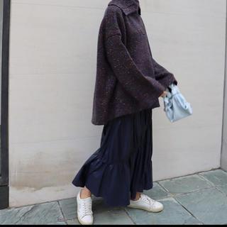 machatt マチャット   エコレザーギャザースカート