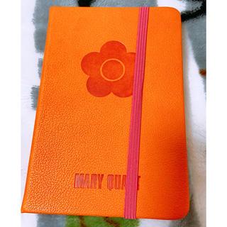 マリークワント(MARY QUANT)の手帳型ノート(ノート/メモ帳/ふせん)
