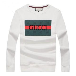 Gucci - 人気新品 GUCCI メンズ 無地 コットン 長袖 2枚10000円