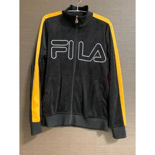 フィラ(FILA)のフィラ FILA ジャケット  VELOUR TAPING JACKET(ナイロンジャケット)