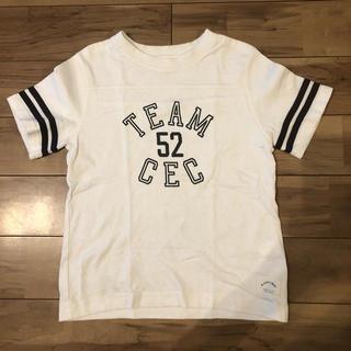 コーエン(coen)のcoen コーエン★白 Tシャツ 120cm ロゴ(Tシャツ/カットソー)