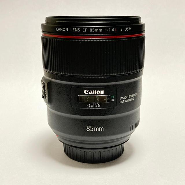 Canon(キヤノン)のCanon EF85mm F1.4 スマホ/家電/カメラのカメラ(レンズ(単焦点))の商品写真