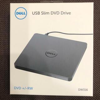 デル(DELL)のUSBスリムDVDドライブ DELL(PC周辺機器)