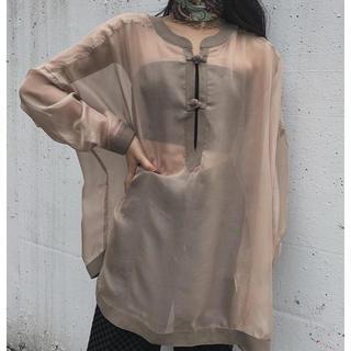 juemi seethrough pullover