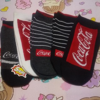 コカコーラ(コカ・コーラ)のコカ・コーラグッズ靴下(ソックス)