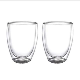 イケア(IKEA)のIKEA PASSERAD パッセラド 耐熱二重グラス (グラス/カップ)