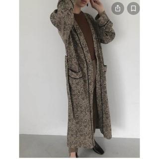 トゥデイフル(TODAYFUL)のTODAYFUL ☆Jacquard Piping Gown (ガウンコート)