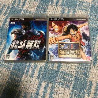 プレイステーション3(PlayStation3)のワンピース 海賊無双  北斗無双  PS3ソフト(家庭用ゲームソフト)