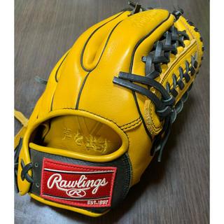 Rawlings - 一般軟式用ローリングスハイパーテックDPカラーズ野球グローブ 美品
