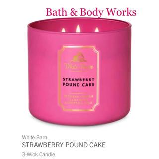 バスアンドボディーワークス(Bath & Body Works)のバスアンドボディワークス 新品3芯キャンドル(アロマ/キャンドル)