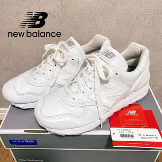 New Balance - ニューバランス 定価2万9千円 M1400JWT オールホワイト 24センチ