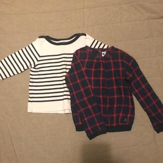 プチバトー(PETIT BATEAU)の100 110 プチバトー トップス (Tシャツ/カットソー)