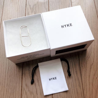 HYKE - 値下げ  新品  HYKE  ハイク  イヤーカフ  シルバー