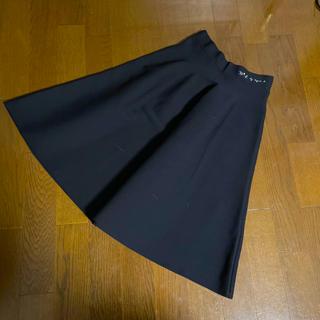 アニエスベー(agnes b.)のTo b by agnes b 刺繍スカート 38(ロングスカート)
