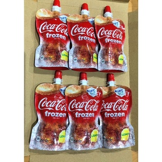 コカコーラ(コカ・コーラ)のコカ・コーラ フローズン レモン(ソフトドリンク)