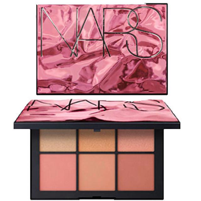 NARS(ナーズ)のナーズ アフターグロー チークパレット 箱付き コスメ/美容のベースメイク/化粧品(チーク)の商品写真