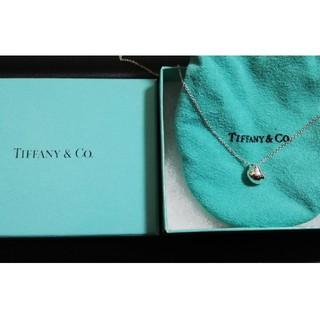 Tiffany & Co. - 値下げティファニー ドロップネックレス 新品仕上げ 保存袋、箱あり 送料無料