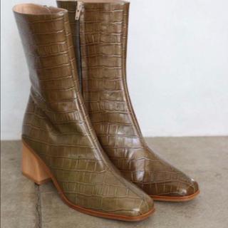 ビューティアンドユースユナイテッドアローズ(BEAUTY&YOUTH UNITED ARROWS)のpalomawool ブーツ(ブーツ)