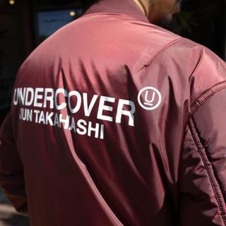 アンダーカバー(UNDERCOVER)のUNDERCOVER MA-1 order-disorder Monolith2(フライトジャケット)