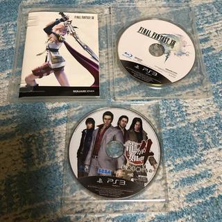 プレイステーション3(PlayStation3)の龍が如く4    ファイナルファンタジー13(家庭用ゲームソフト)