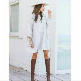 ALEXIA STAM - アリシアスタン  スタンドカラーシャツドレス