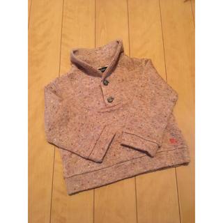 BURBERRY - BURBERRY   子供用ニットシャツ 90cm