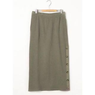 コーエン(coen)の新品 coen コーエン ヘビーワッフルサイドボタンスカート(ロングスカート)