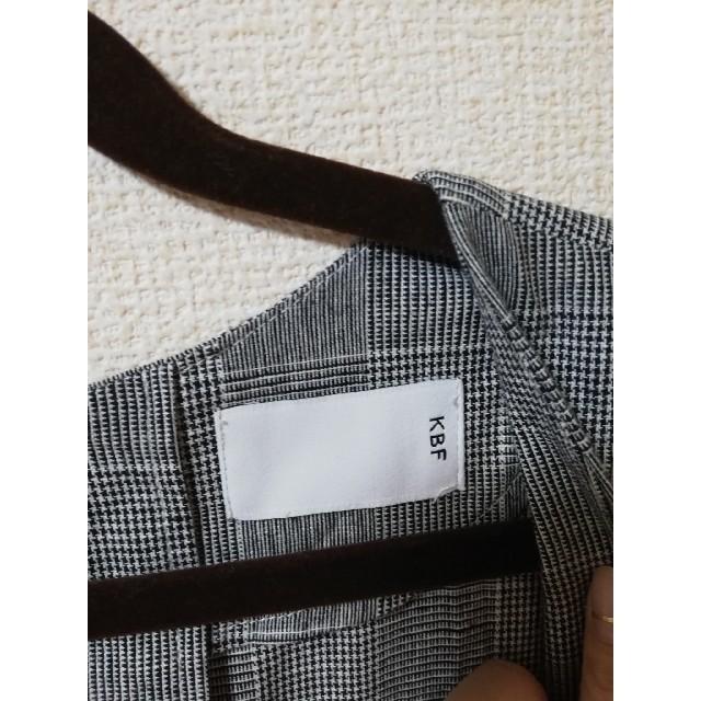 KBF(ケービーエフ)のKBF チェック柄オールインワン  レディースのパンツ(オールインワン)の商品写真