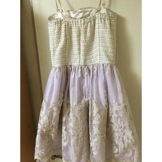 Language(ランゲージ)のlanguage ドレス ワンピース レディースのフォーマル/ドレス(ミディアムドレス