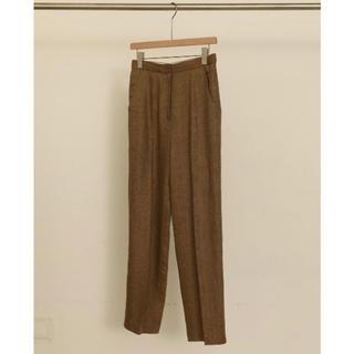 トゥデイフル(TODAYFUL)の【TODAYFUL】新品 Herringbone Linen Trousers(カジュアルパンツ)