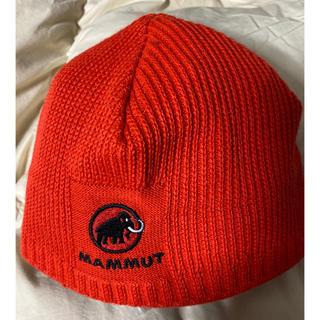 マムート(Mammut)の登山 散歩 冬山 ニット帽 帽子 冬山 新品未使用 防寒 マムート(ニット帽/ビーニー)