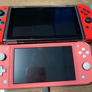 ニンテンドースイッチ(Nintendo Switch)のSwitch とSwitch Lite(2台)(家庭用ゲーム機本体)