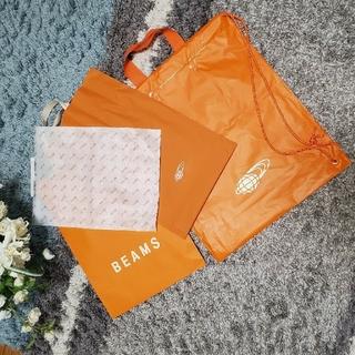 ビームス(BEAMS)のBEAMS ショッパー袋 4点セット(ショップ袋)
