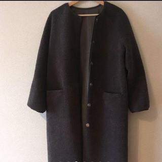 IENA - トラッツォドンナ  2wayノーカラーコート  美品