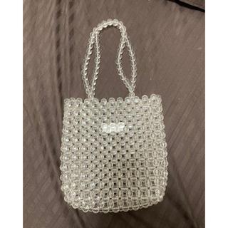 マウジー(moussy)のclear beads bag(ハンドバッグ)