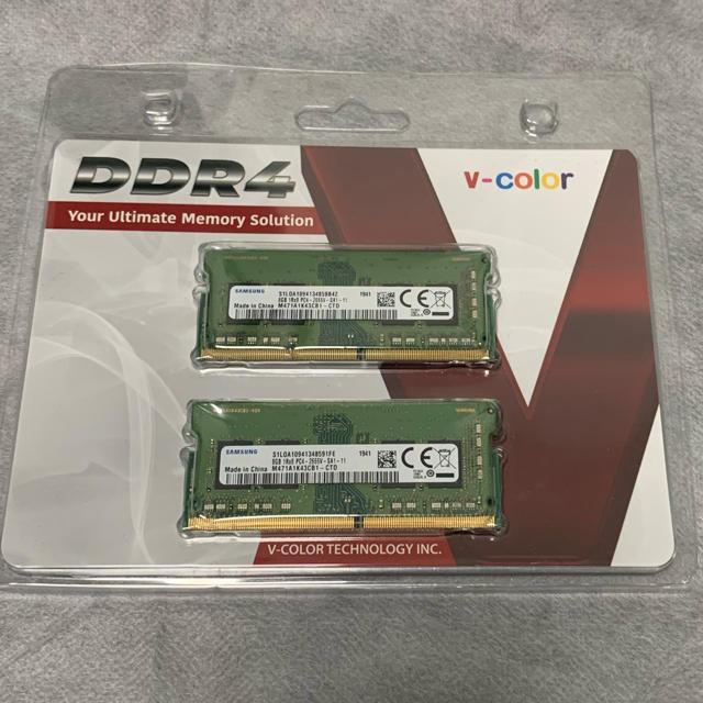 メモリ DDR4-2666(PC4) 8GB×2(計16GB) スマホ/家電/カメラのPC/タブレット(PCパーツ)の商品写真