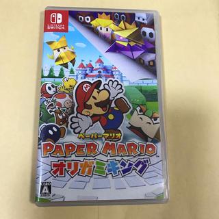 ニンテンドースイッチ(Nintendo Switch)のペーパー マリオ オリガミキング Nintendo Switch 任天堂 (家庭用ゲームソフト)