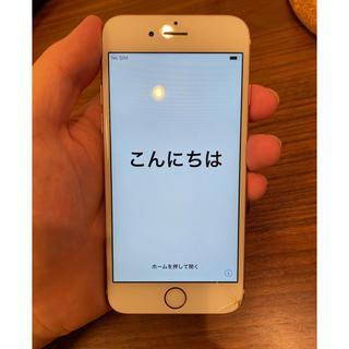 iPhone - iPhone 6s rose glod 64GB SIMフリー