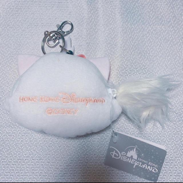 Disney(ディズニー)の香港Disney限定 マリーちゃん コインケース エンタメ/ホビーのおもちゃ/ぬいぐるみ(キャラクターグッズ)の商品写真