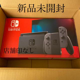 ニンテンドースイッチ(Nintendo Switch)の任天堂スイッチ 本体 新型 店舗印なし 迅速発送❣️(家庭用ゲーム機本体)
