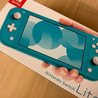 ニンテンドースイッチ(Nintendo Switch)のNintendo Switch  Lite ターコイズ (家庭用ゲーム機本体)