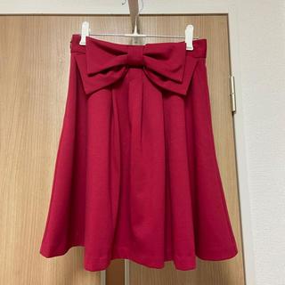 プライムパターン(PRIME PATTERN)のPRIME PATTERN リボンスカート(ひざ丈スカート)