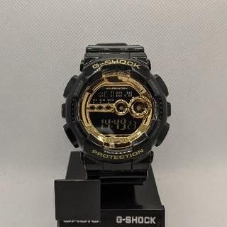 ジーショック(G-SHOCK)のG-SHOCK GD-100GB-1JF ブラック&ゴールド(腕時計(デジタル))