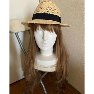 アングリッド(Ungrid)のアングリッド ストローハット帽子(麦わら帽子/ストローハット)